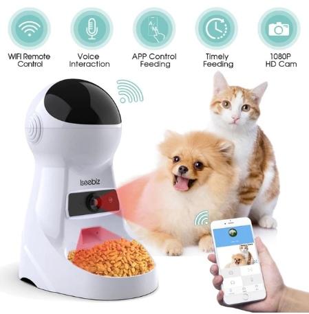 Автоматическая кормушка для кошек,собак