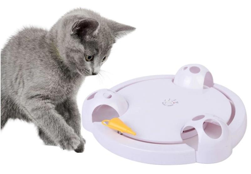 Автоматическая игрушка для кошек