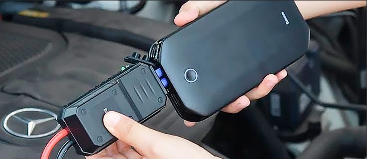 Запуск авто с севшим аккумулятором